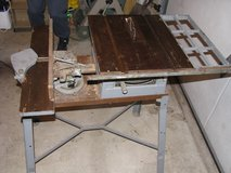 woodworking - Table saw with jointer in Aurora, Illinois