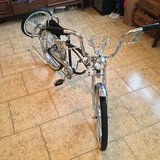 """""""Lowrider"""" Bicycle in Yucca Valley, California"""