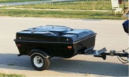 Trade: Motorcycle pull behind trailer in Morris, Illinois