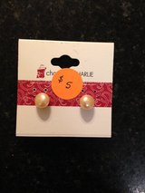 Pearl Pierced earrings in Batavia, Illinois