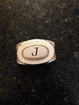 Vintage Swank Belt Buckle w/the initial J in Naperville, Illinois