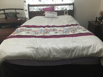 Complete Bedroom set less then 2 years old (No mattress or box spring) in Okinawa, Japan