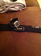 Polar heart rate sensor belt and watch in Alamogordo, New Mexico