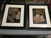 Gold Leaf Pictures w/ Frames in Sheppard AFB, Texas