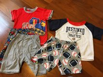 Boys short pajamas in Okinawa, Japan