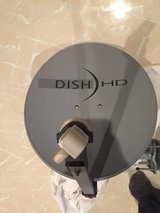 Dish 90 degree Mounting Bracket with 20in HD Dish in Okinawa, Japan