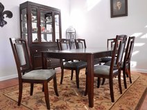 REDUCED-Dining Table, 6 chairs and buffet/china hutch in Fort Bliss, Texas