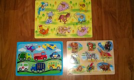 Wooden block puzzles in Bolingbrook, Illinois