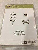 Stampin Up Bold Blossom Acrylic Mount Stamp Set in Aurora, Illinois