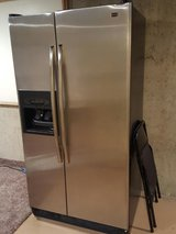 Maytag Stainless Steel Refrigerator in bookoo, US