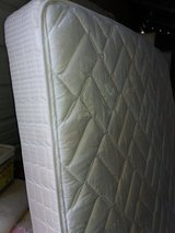 Queen mattress and boxspring in Fort Riley, Kansas