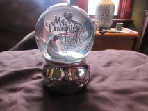 My daughter snowglobe With Music in Chicago, Illinois