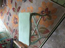 Green end table 23 in long 13 in wide 22 in tall in Cleveland, Texas