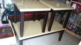 coffee table and 2 end tables in Houston, Texas