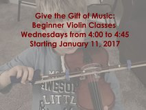 Beginner Violin Lessons in Chicago, Illinois
