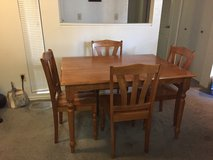 Dining Table with 4 Chairs in Vacaville, California