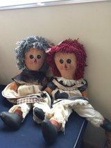 Raggedy Ann Dolls in Okinawa, Japan