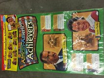 African American historical figures posters 25 pieces in Alamogordo, New Mexico