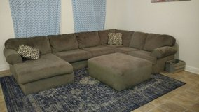Grey/beige Sectional in Temecula, California