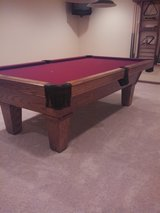 Pool table and ping pong in Batavia, Illinois