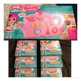 NEW Lalaloopsy bake oven set with  7 mixes in Stuttgart, GE