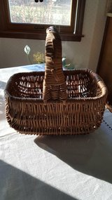 Woven Basket with handle in Batavia, Illinois