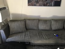 European couch in Fort Irwin, California