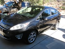 2013 Ford Fiesta 4 door, Titanium edition, only 27K miles in 29 Palms, California