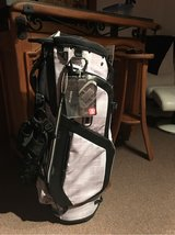 2014 Ogio Grom White Charc Golf Hybrid Stand Bag 14-Way Top Full Club Dividers in Ramstein, Germany