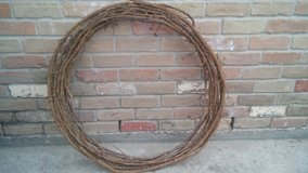 XLarge grapevine wreath in Spring, Texas
