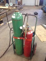 Cutting Torch Tanks and Cart in Conroe, Texas