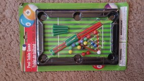 Plastic pool table game in Bolingbrook, Illinois