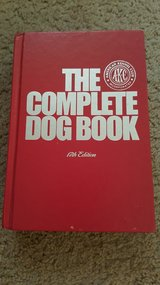 """AKC """"The Complete Dog Book"""" 17th Edition in Joliet, Illinois"""