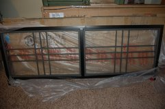 King size Headboard  Tiburon collection have modern Look Grey and Black NEW in Lockport, Illinois