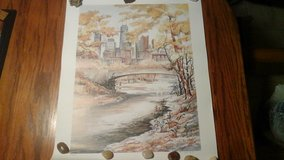 Water Color Print Numbered & Signed By Pat Coffman Huss in Naperville, Illinois