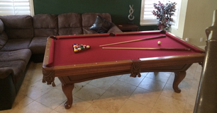 Pool table 8ft, full size in Camp Pendleton, California