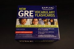 GRE flashcards in Plainfield, Illinois