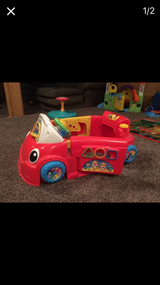 Fisher price laugh and learn car in Joliet, Illinois