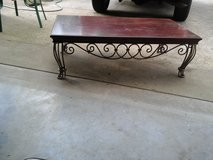 """Table Coffee  wrought Iron W  3ft.9""""  X L 4ft.3"""" in Dickson, Tennessee"""