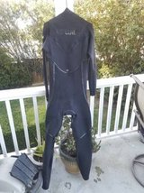 Rip Curl E3bomb with E3 elastomax Wetsuit in San Clemente, California