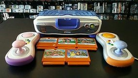 V-Smile V-Motion Active Learning Center by VTech with 6 Games + Extra Controller in Camp Pendleton, California