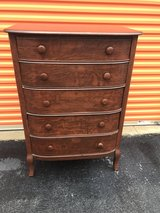 Qtr Oak Chest 5 Drawer's in Camp Lejeune, North Carolina