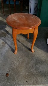 Oval end table in Naperville, Illinois
