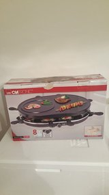 Raclette Grill - Serving for 8 People (220 volt) in Ramstein, Germany