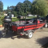16' aluminum bass boat in Fairfield, California