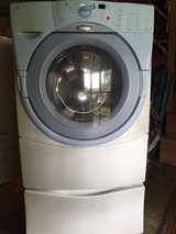Whirlpool Front Loading Duet ht Washer/Dryer Set in bookoo, US