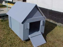 Dog House w/Removable Roof & Ramp & Sliding rear Access Panel in Camp Lejeune, North Carolina