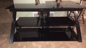 3 Level Glass TV Stand in Chicago, Illinois