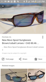 Brand new Revo spool polarized sunglasses in Camp Lejeune, North Carolina
