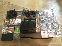 PS3 and PS2 with games in Oceanside, California